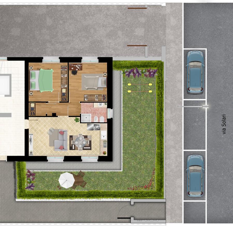 via Solari Appartamento 2