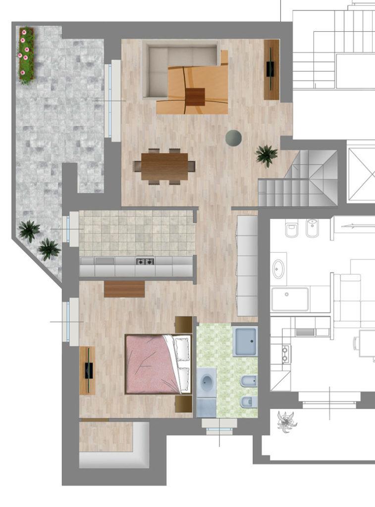 Appartamento 5 strada Casa Bianca