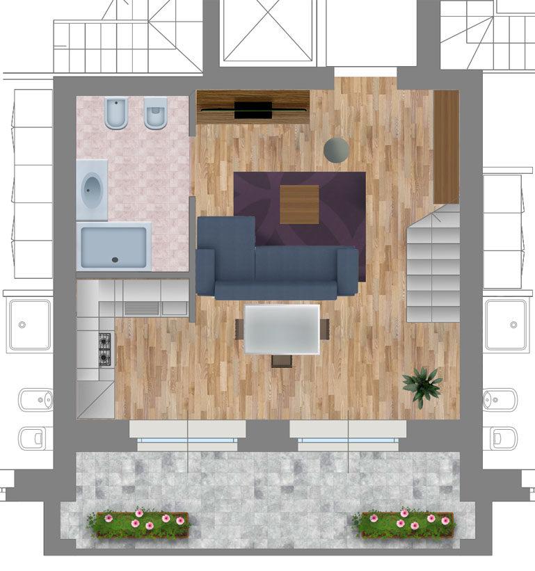 Appartamento 7 strada Casa Bianca